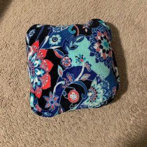 Vera Bradley travel blanket/pillow